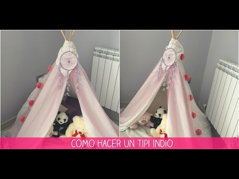 How to make an Indian TIPI ( Child Decoration) | Babymum