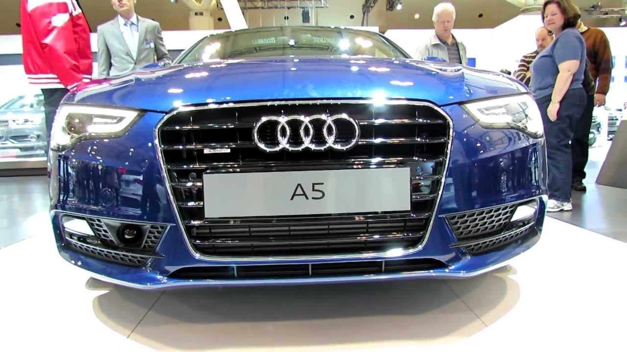 2012 Audi A5 Tfsi Quattro Exterior And Interior At 2012