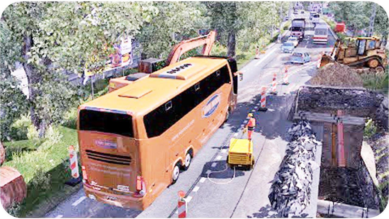 Ets2 Bus Trip Volvo Bus Euro Truck Simulator 2 Youtube