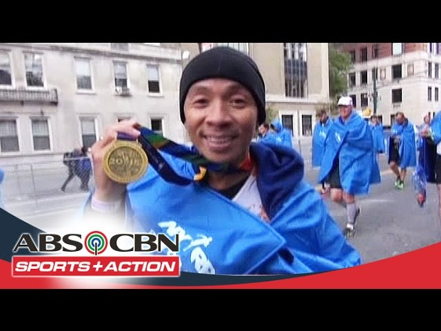 The Score: Kim Atienza joined 2015 NYC marathon