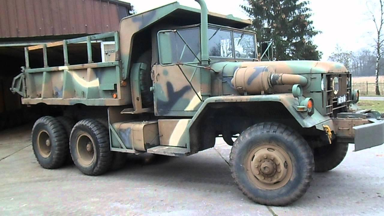 Reo M51a2 Dump Truck Ex Vietnam Youtube