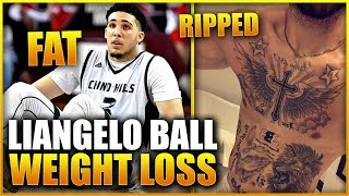 LIANGELO BALL'S INSANE NBA BODY TRANSFORMATION & WEIGHT LOSS!