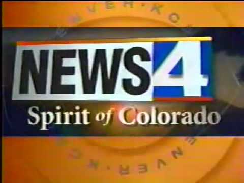 KCNC News 4 Denver 5PM Open (March 1998)