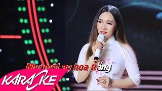 Lưu Bút Ngày Xanh Karaoke - Đào Anh Thư | Bolero Nhạc Vàng Karaoke Beat