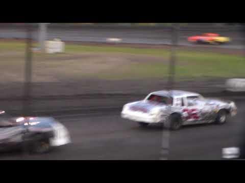 Hobby Stock Heat 1 @ Hancock County Speedway 08/12/17