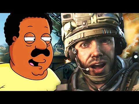 Cleveland Brown TROLLING on Call of Duty! - (Family Guy Voice Trolling)