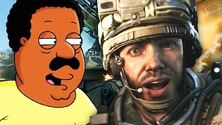 Repeat youtube video Cleveland Brown TROLLING on Call of Duty! - (Family Guy Voice Trolling)