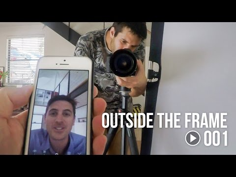 Commercial Photography Studio Behind the Scenes - Outside The Frame 001