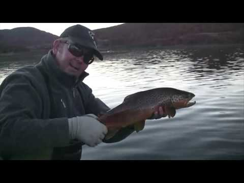 Gavin Hurley Fly Fishing Chile's Amazing Lakes...