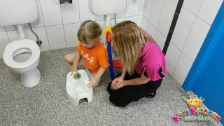 Toilet / Potty Training Your Child out of Nappies - How To Video