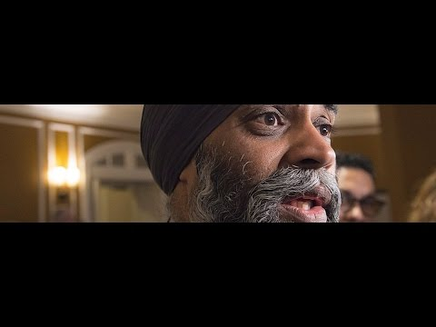 If Defence Min. Sajjan sounds confused, blame his boss, Justin Trudeau