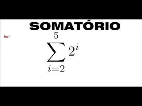 Curso de Matemática e Raciocínio Lógico Como representar expressão símbolo SOMATÓRIO Letra SIGMA