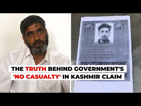 The Truth Behind Government's 'No Casualty' in Kashmir Claim