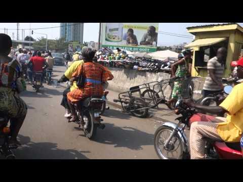 Streets of Cotonou Benin