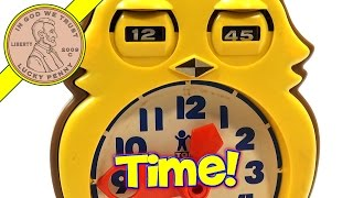 Tomy Tic-Tock Answer Clock, Learn To Tell Time!