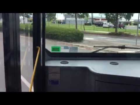 Brisbane Airport Shuttle Bus Route T To Terminals