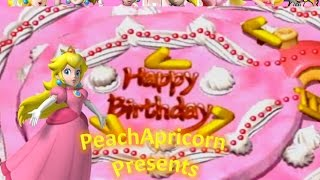 Mario Party ~ Peach's Birthday Cake (2¼-year Anniversary Special)