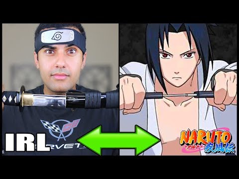 INSANE NARUTO ATTACKS / JUTSU IN REAL LIFE!!! CHALLENGE!! 1.5 *INSANELY DANGEROUS*