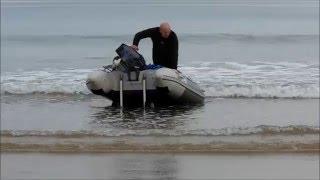 première sortie en mer  en bateau  erquy mai 2016