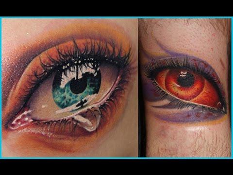Video De Tatuajes De Ojos Youtube