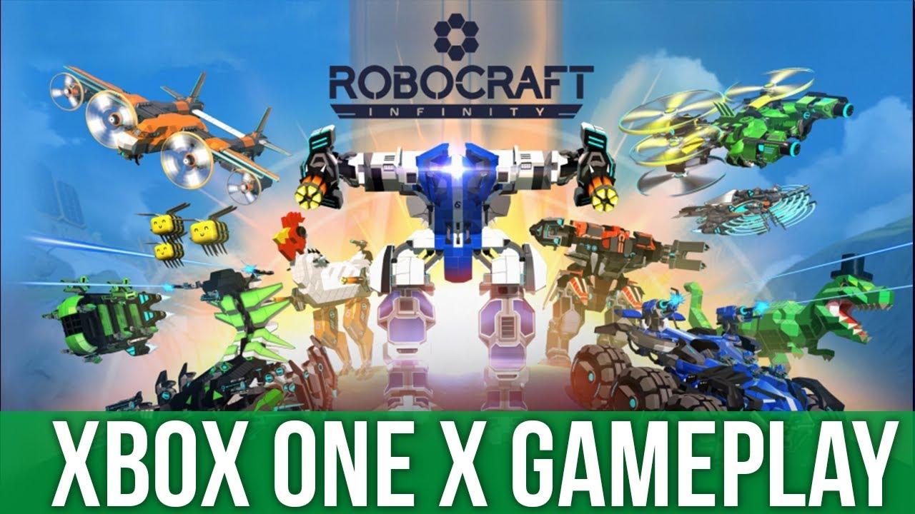 Robocraft Infinity - Xbox One X Gameplay (Gameplay ...
