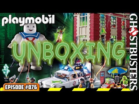 ATN #076 - Playmobil Ghostbusters Complete Set Unboxing Review