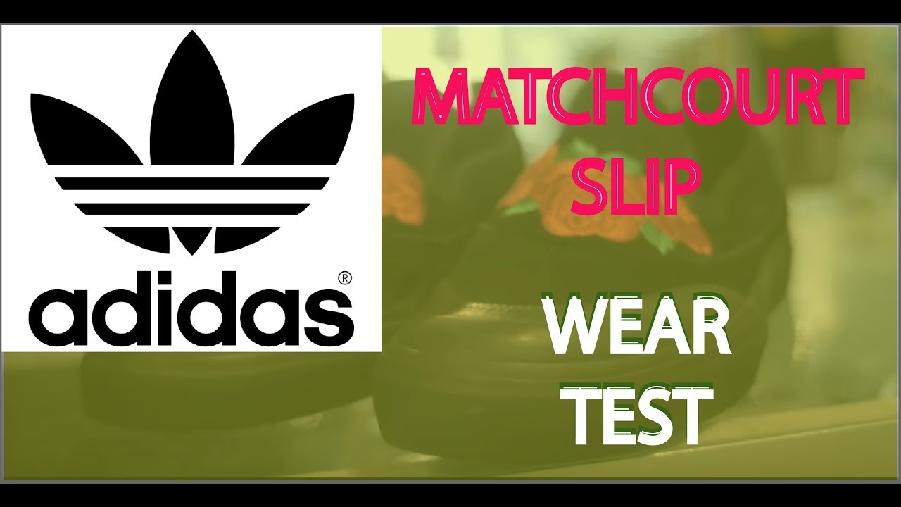c4dd4bce7521 Adidas Matchcourt Slip ( Black   Scarlet   Light Purple ) Wear Test
