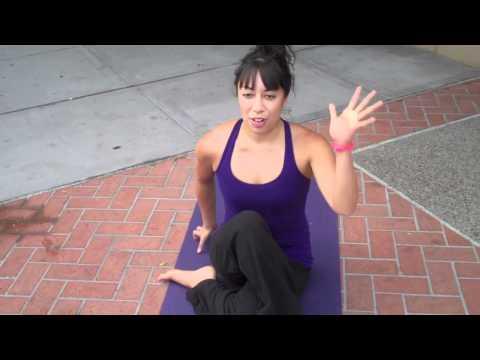 Bikram Yoga San Diego  (Seated Twist) Lower Back Stretch