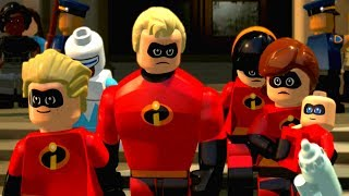 LEGO The Incredibles - ICE CREAM VANISHING - Episode 3 - Happy Kids Games and Tv - 1080p