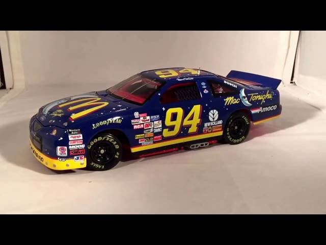 Review: 1997 Bill Elliott McDonald's Mac Tonight Ford Thunderbird 1/24 Elite NASCAR