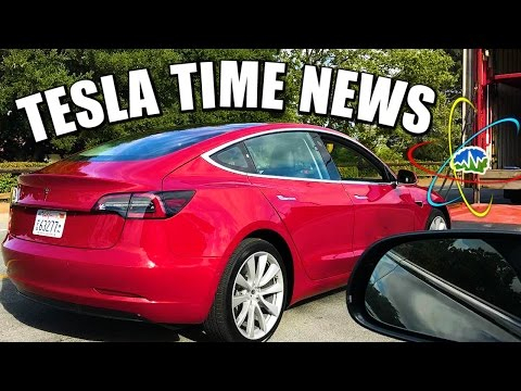 Tesla Time News - New Model 3 Color/Tesla Energy Aggregation