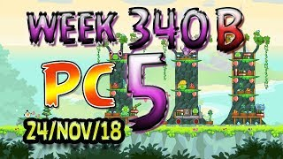 Angry Birds Friends Tournament Level 5 Week 340-B PC Highscore POWER-UP walkthrough