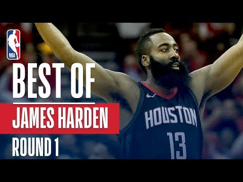 James Harden's Best Plays From The First Round!
