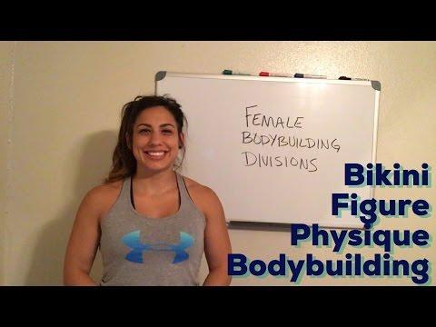 Deciding on Divisions: Bikini, Figure, Physique, Bodybuilding
