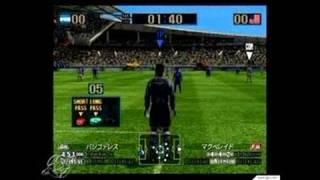 Virtua Striker 2002 GameCube Gameplay - Replay footage