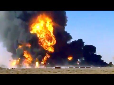 Fuel Tankers Explode in Islam Qala, Afghanistan - Feb. 13, 2021