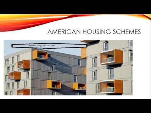 American Housing schemes part 1