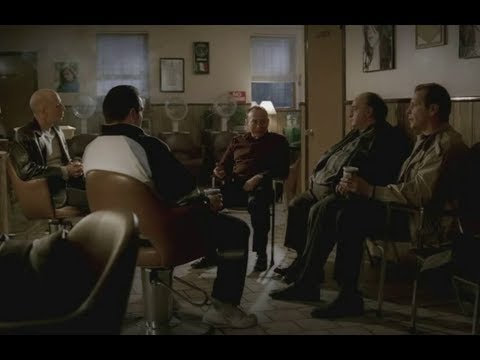 New York Capos Talks About The Hit On New Jersey - The Sopranos HD