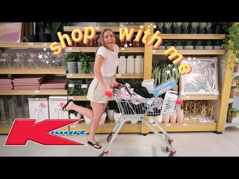 Kmart shop with me + haul!