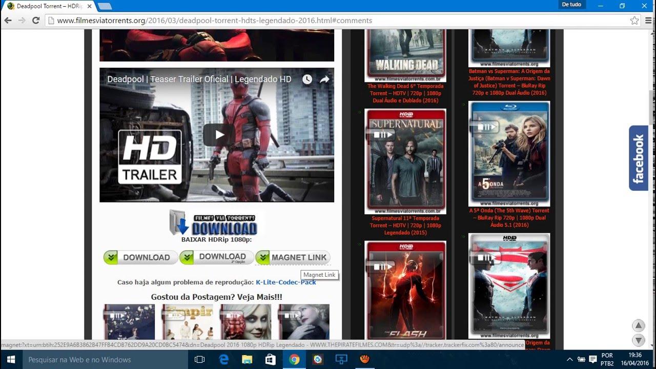 baixar filmes via utorrent 3 5 4