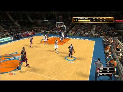 NBA 2K13 Create A Legend Mode with Dwyane Wade: Game 1 vs. Knicks
