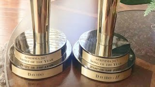 Davido Dedicates AFRIMA Award To His Late Friends: Tagbo And DJ Olu