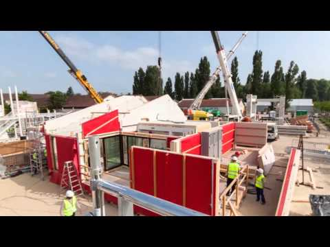 Solar Decathlon Europe - RhOME - Construction days