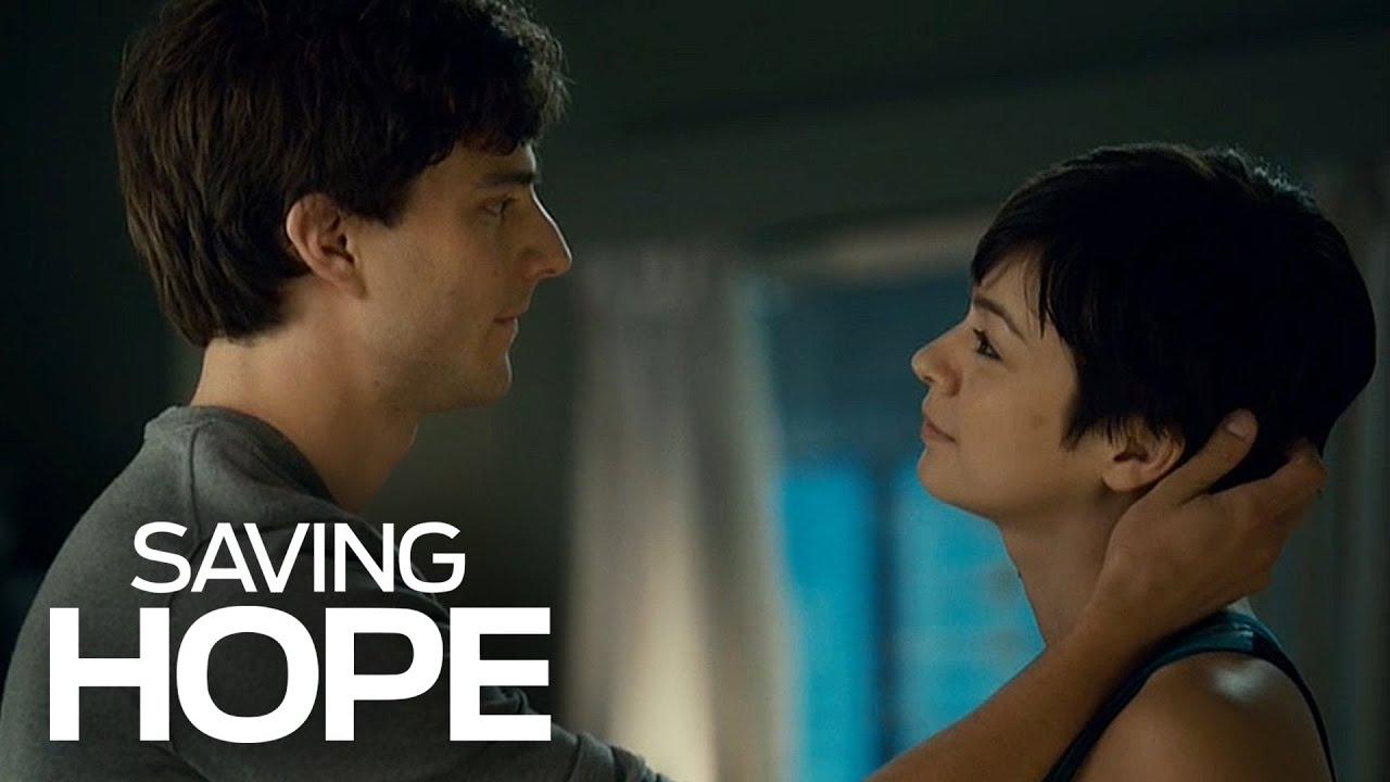Download Maggie and Gavin Kiss! | Saving Hope