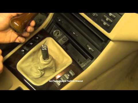 bmw x5 manual transmission removal