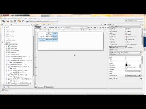 TUTORIAL] Creating a Pivot Table with iReport Designer | Jaspersoft