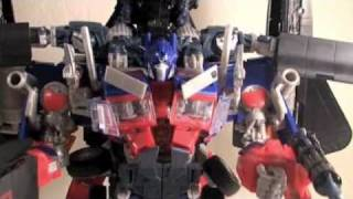 How To Combine Transformers ROTF Leader Optimus Prime & Jetfire into Jet Power Prime!