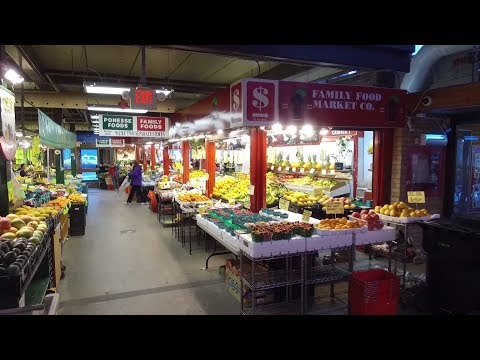 St Lawrence Market 2018 Toronto Tour