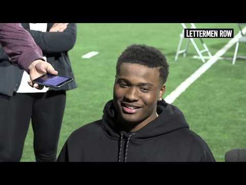 Dwayne Haskins: Ohio State quarterback on leadership, Big Ten Championship preview