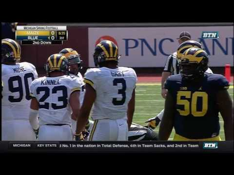 Michigan Wolverines: FULL 2017 Maize-Blue Spring Game [April